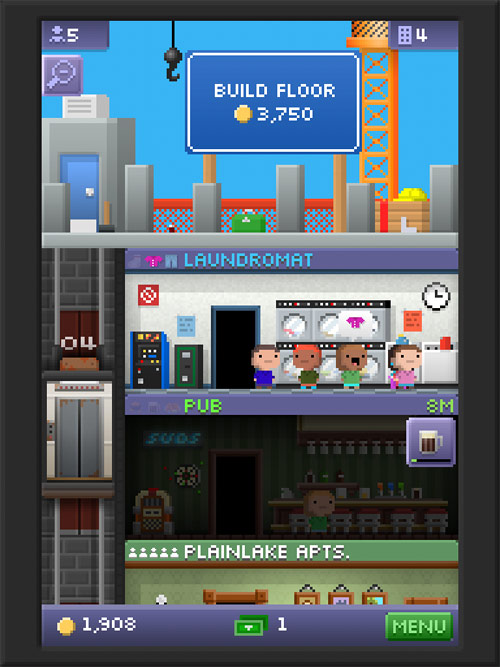 Tiny Tower - ���������� ����� ����� [Free]