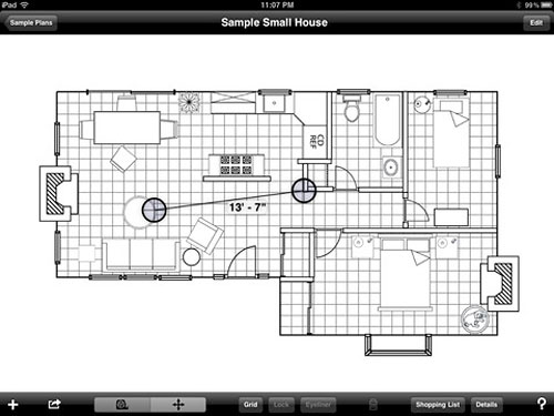 Home Space Planning Design Tool - Mark On Call HD - ����������� ������ ������������