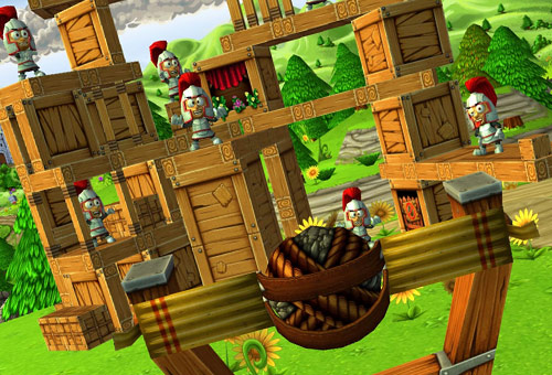 Catapult King - 3D вариант Angry Birds  [Free]
