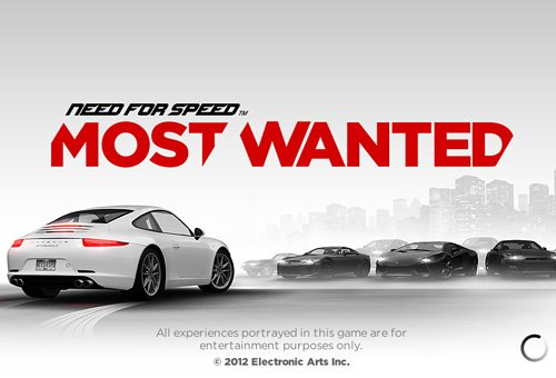 NFS Most Wanted - ���� �� ������ ����� �� iPad