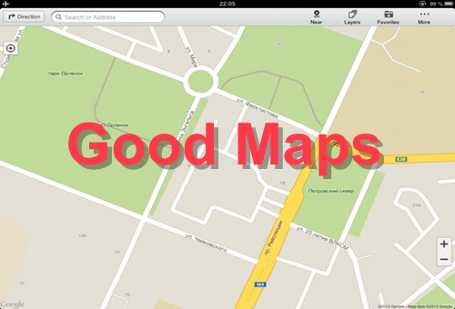 Good Maps - Google �����, with Offline Map, Directions and More - ��� ���� �����