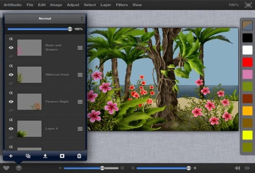 ArtStudio for iPad - ���������������� ����������� ��������