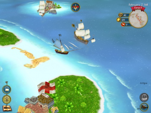 Sid Meier's Pirates! for iPad - Пираты Сида Мейера